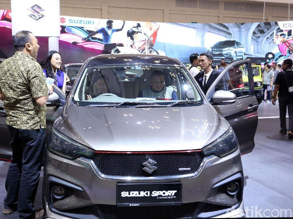 Kata Suzuki Soal Ertiga Versi SUV buat Adang Rush