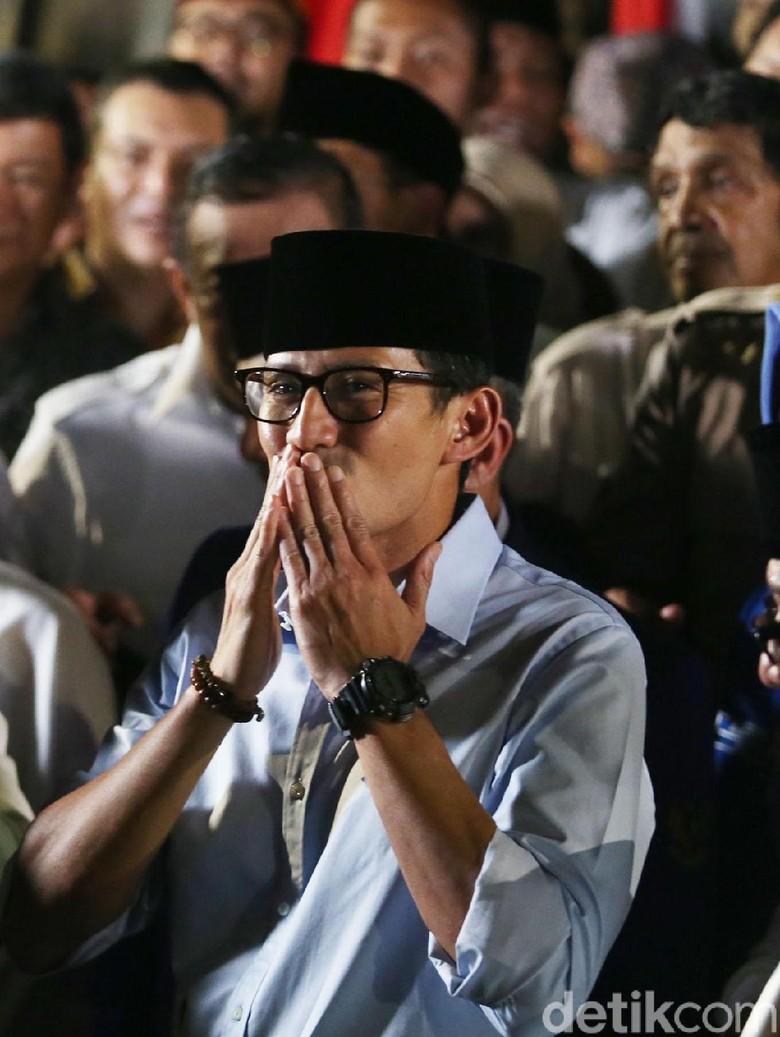 Maruf Amin Singgung Ijtimak Ulama, Ini Respons Sandiaga