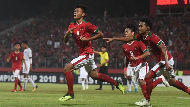 Timnas Indonesia U-16 vs timnas Iran jadi laga pembuka Grup C Piala Asia U-16.
