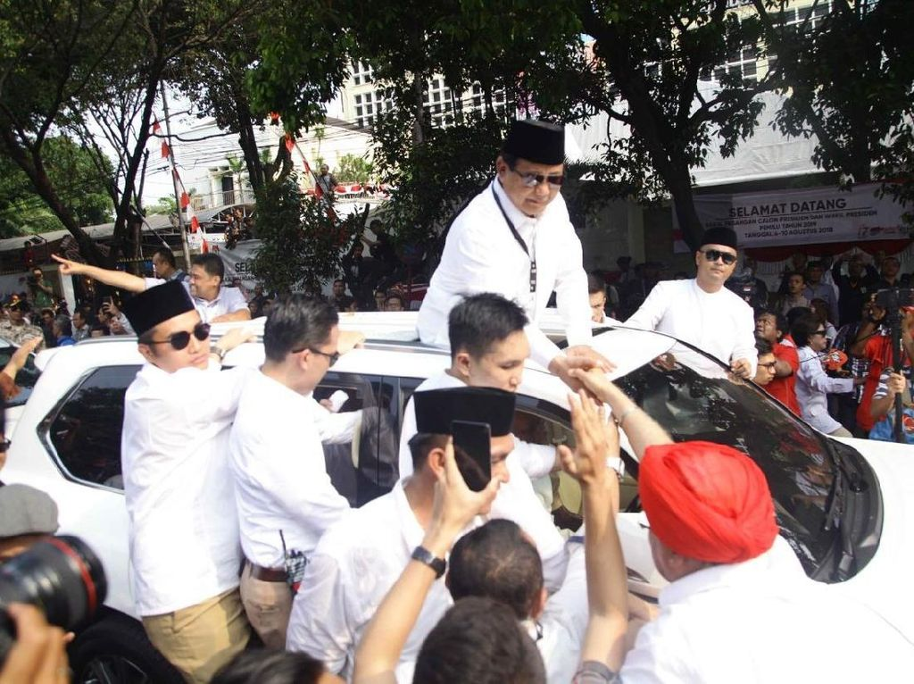 Koleksi Mobil Jokowi-Maruf Amin, Prabowo-Sandi