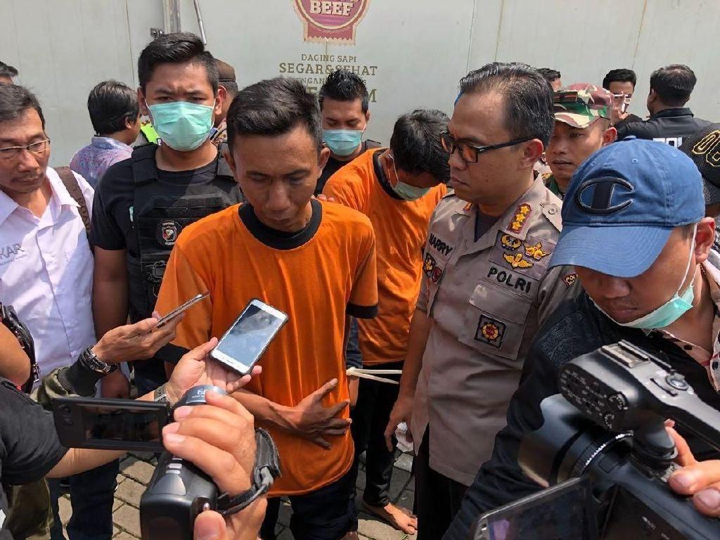 Berkat CCTV, Perampok Bersenpi di RPH Tangerang Ditangkap Polisi