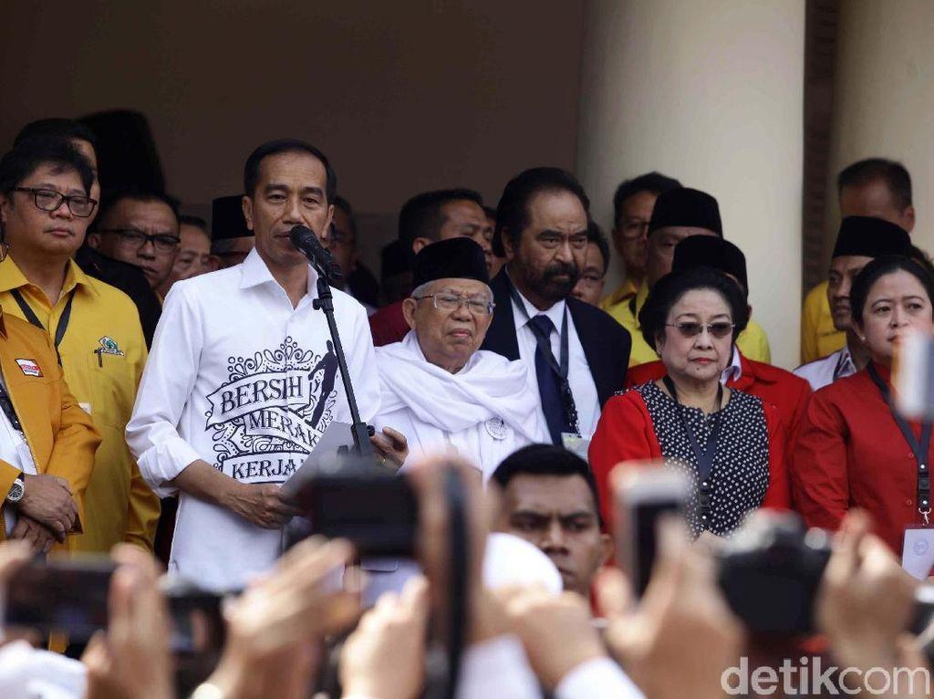 Jokowi 57,6% di Survei SMRC, TKN: Apresiasi Rakyat Makin Kuat