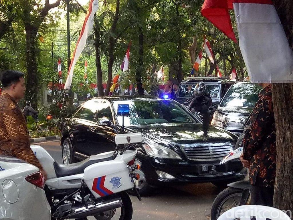 Tak Sampai Satu Jam, JK Tinggalkan Rumah Megawati