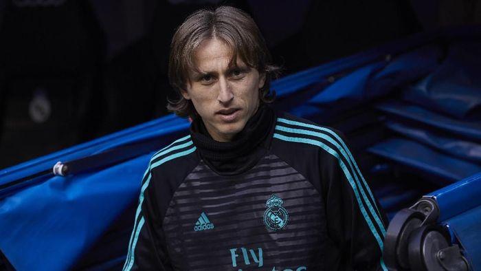 Real Madrid siap memberi kenaikan gaji untuk Luka Modric (Foto: Gonzalo Arroyo Moreno/Getty Images)