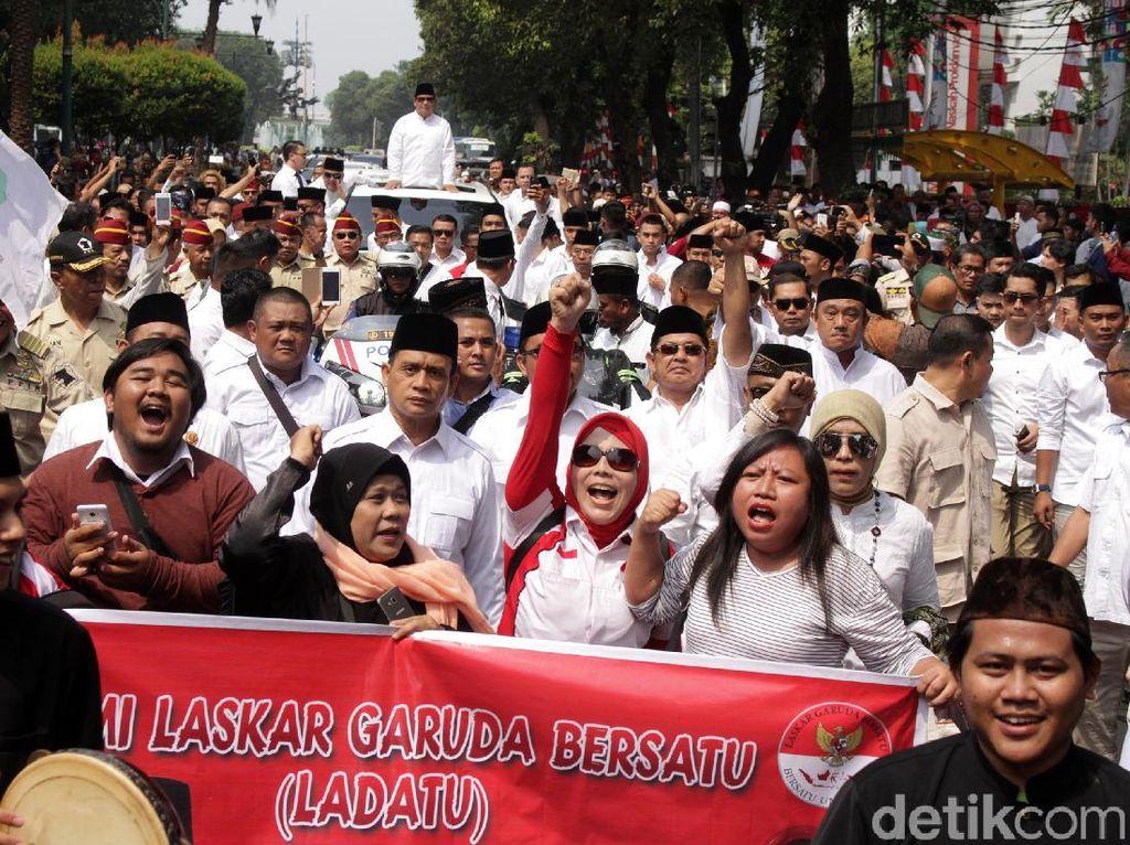 Saingi Ledakan Jubir Jokowi, Gerindra Siapkan Kekuatan Emak-emak