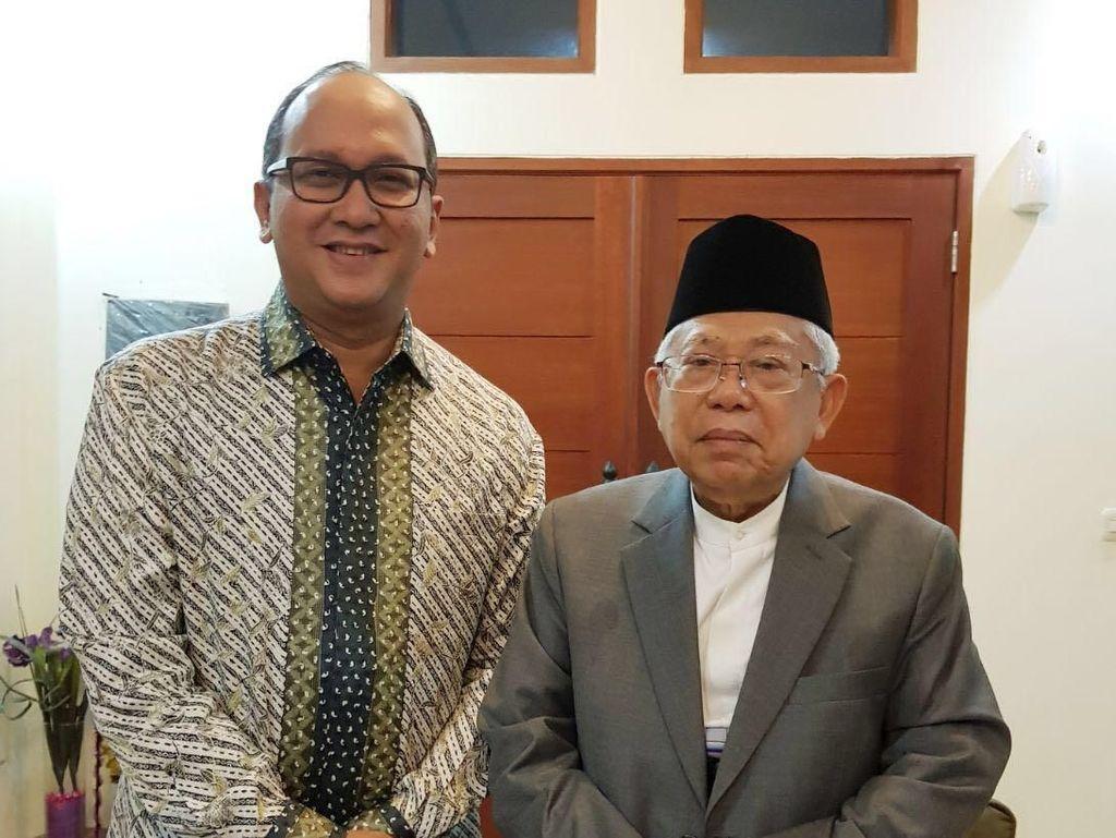Sebelum Jadi Cawapres Jokowi, Maruf Amin Bertemu Ketum Kadin