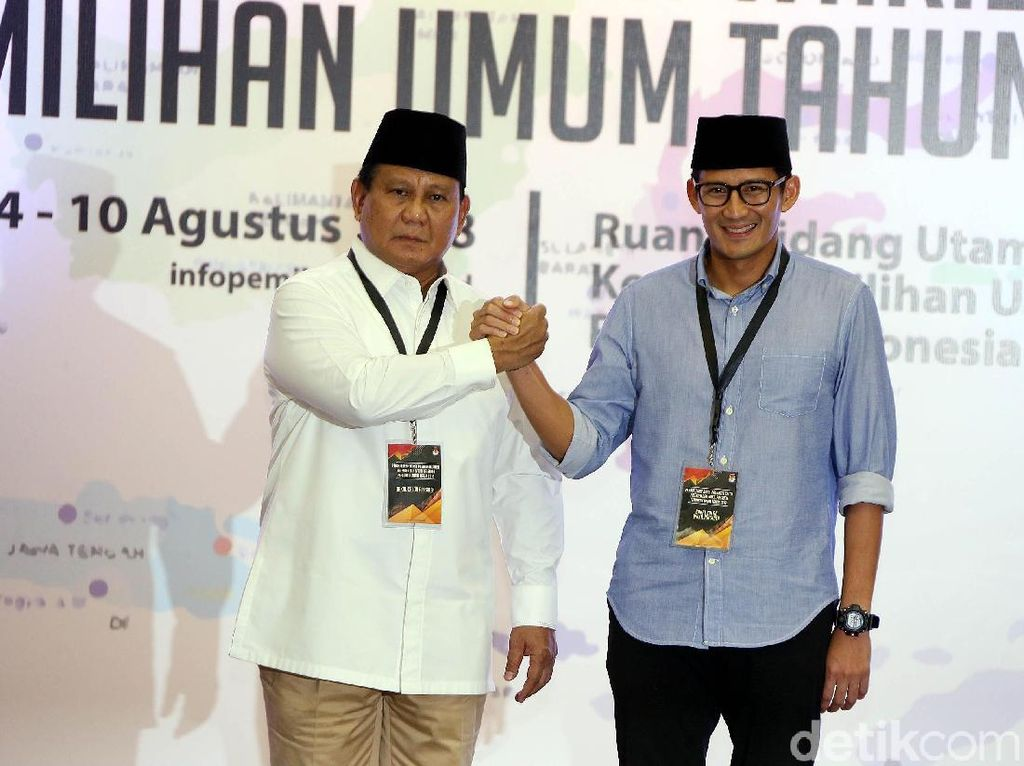 Timses Yakin Elektabilitas Prabowo Salip Jokowi di Debat Pertama