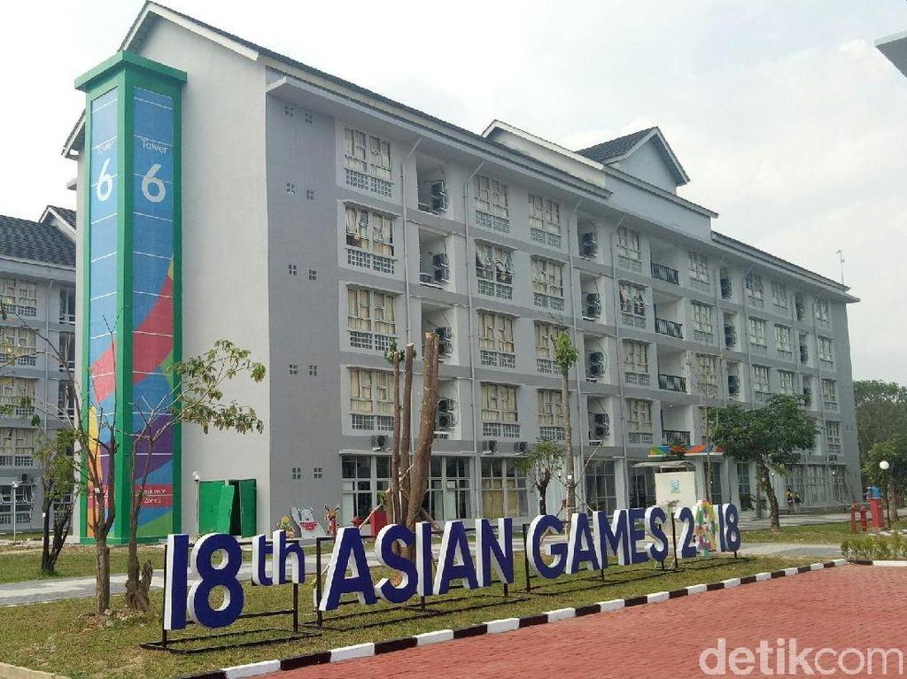 Wisma Atlet Palembang Beroperasi, Atlet Dayung Check in Pertama