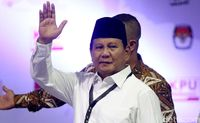 Gaya berpakaian Prabowo /