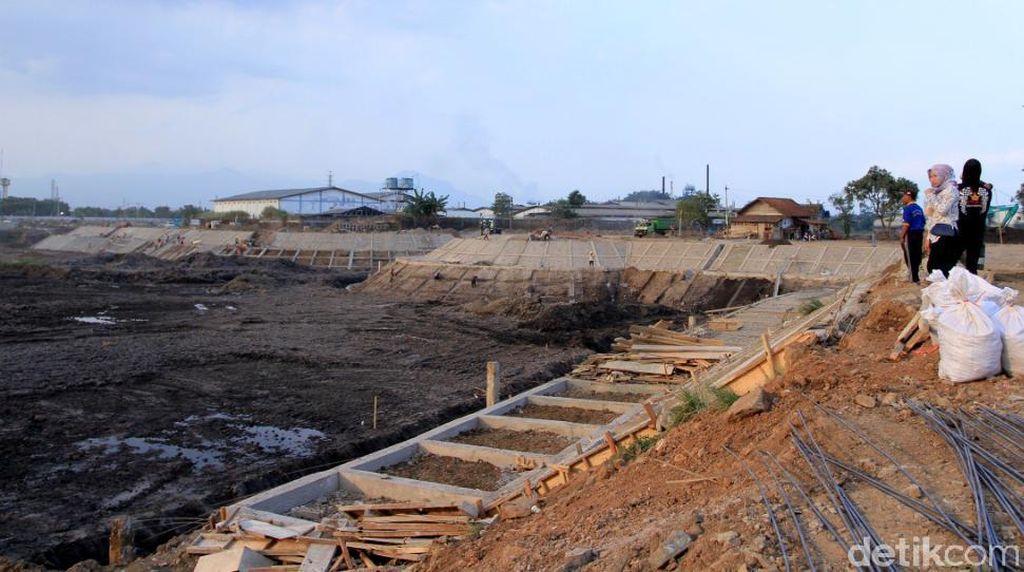 Pembangunan Kolam Retensi Cieunteung Terus Dikebut