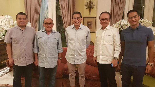 Berita Sandi Sowan Ical, Fadli Zon: Tak Bahas Tim Pemenangan Jumat 24 Mei 2019