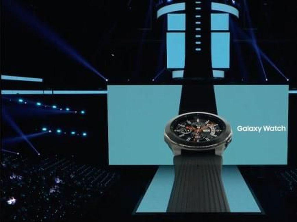 Samsung Ikut Pamer Galaxy Watch Anyar di New York