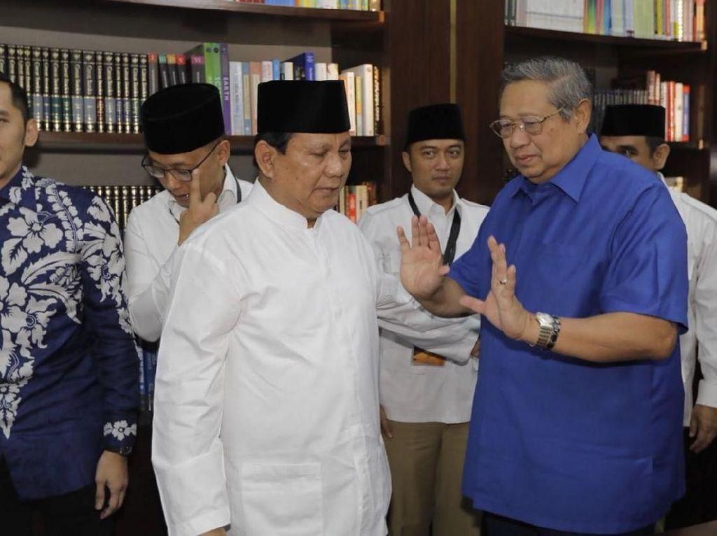 Prabowo-SBY Bahas Strategi Kampanye Sore Ini di Mega Kuningan