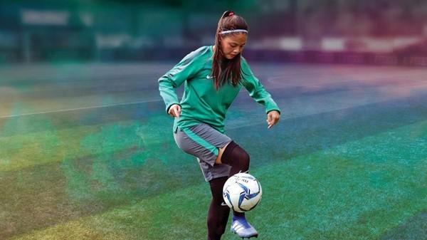 Ini Dia Gelandang Timnas Sepakbola Putri Dhanielle Daphne