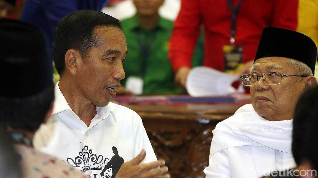 Deretan Kandidat Ketua Timses Jokowi-Maruf Amin