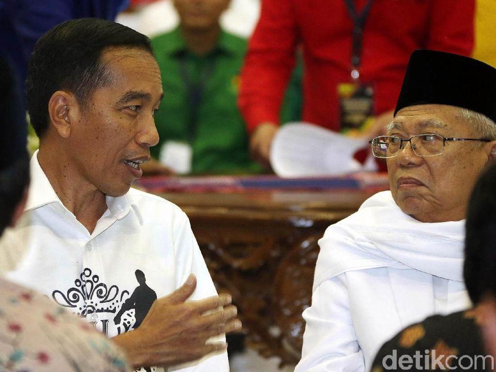 Singgung Prabowo-Sandi, Ini Pidato Lengkap Jokowi Usai Daftar Capres