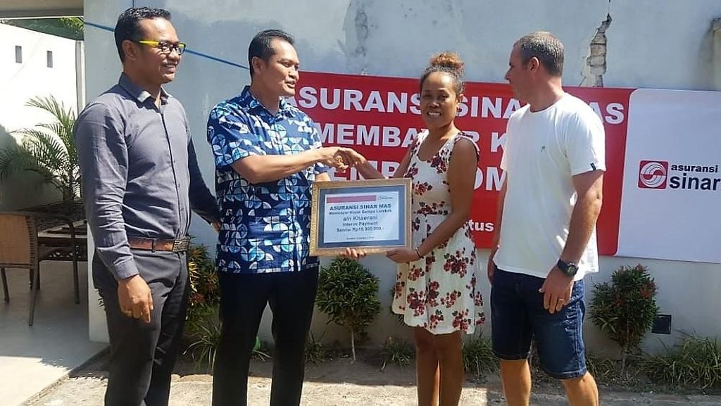 Pencairan Klaim untuk Korban Gempa Lombok