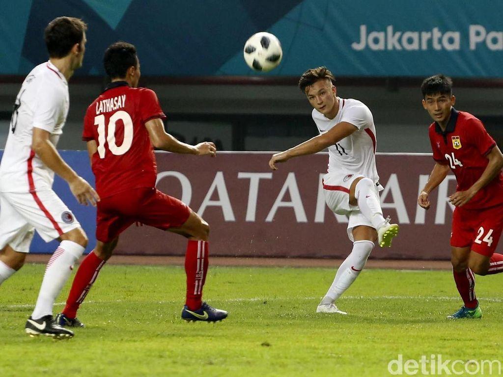 Hasil Sepakbola Asian Games 2018: Hong Kong Menang, Palestina Seri