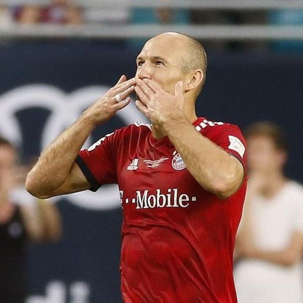 Robben: Tinggalkan Madrid untuk Bayern Keputusan Terbaik dalam Karierku