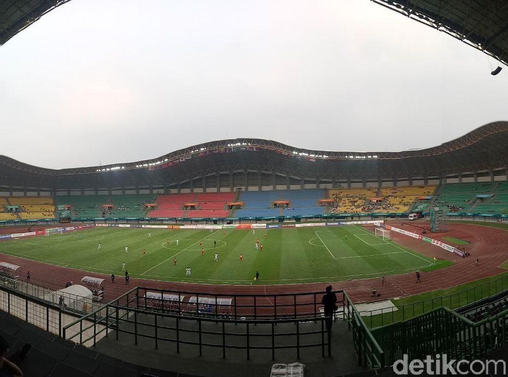 Polisi Akan Visum Wasit yang Diinjak Pemain Bola Fun di Stadion Candrabhaga