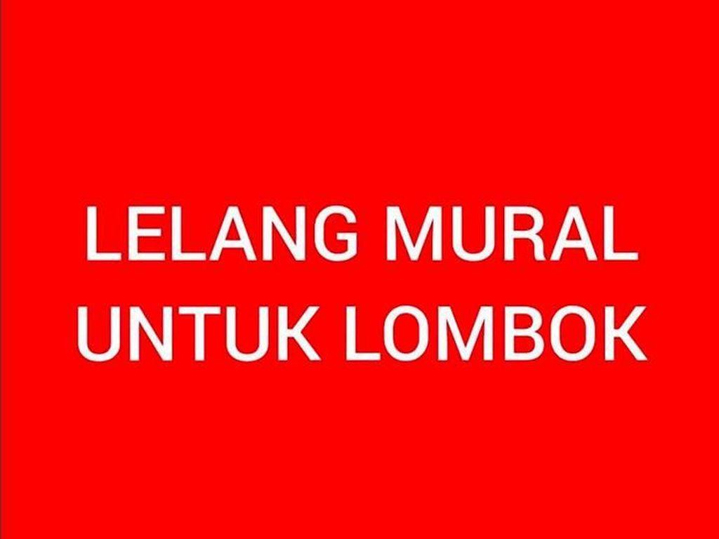 Yuk Seperti Omesh, Ikutan Lelang Mural untuk Lombok dari The Popo!