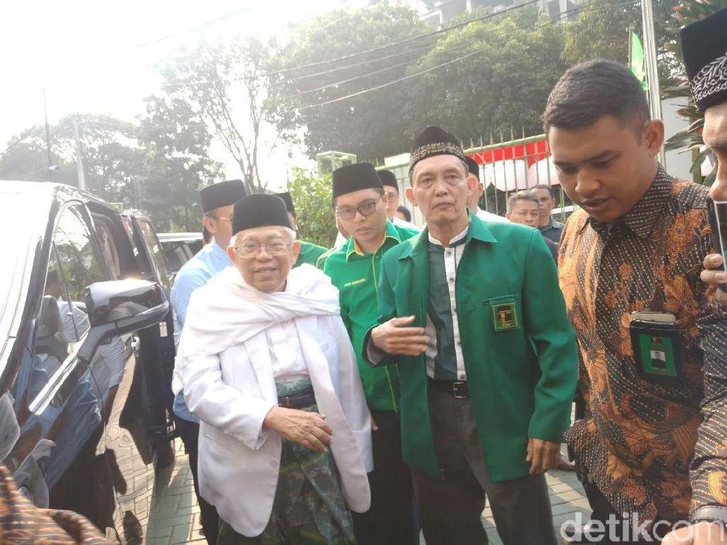 Maruf: Belah Sono Ngomong Hargai Ulama tapi Ijtimak Tak Didengar