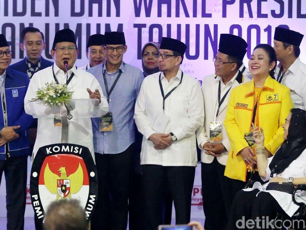 BPN Prabowo Menolak Digertak Isu Retak