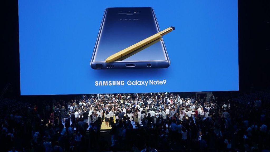 Serunya Peluncuran Galaxy Note 9
