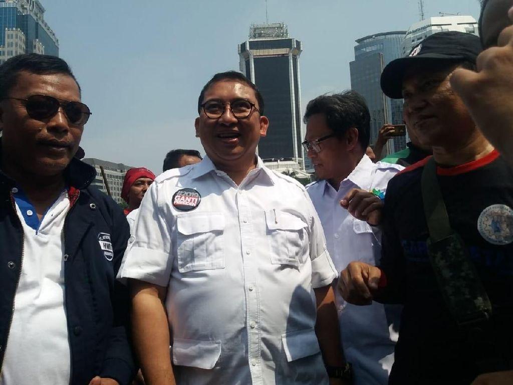 Jokowi Gandeng Maruf, Fadli Tak Khawatir Prabowo Ditinggal Ulama