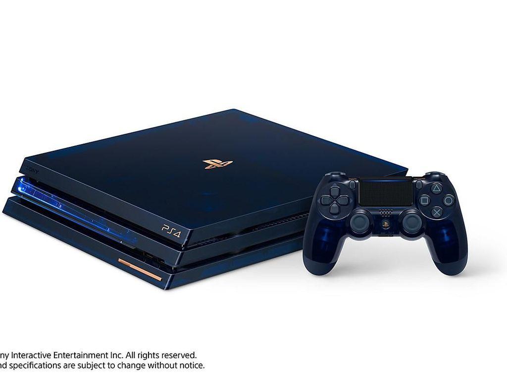 Sony Rilis PS4 Pro 2TB Berbodi Transparan