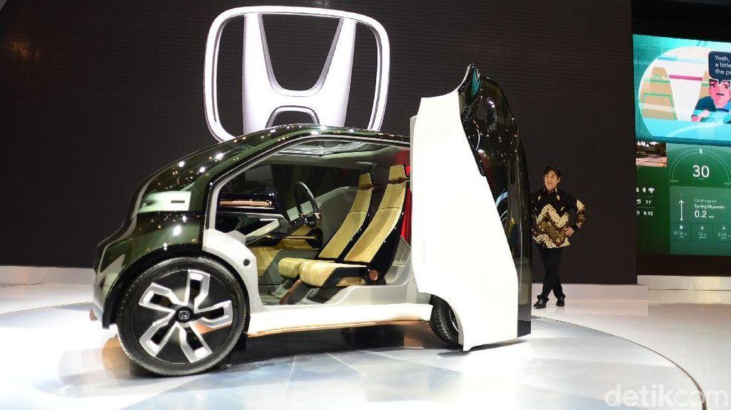 GIIAS 2018: Konsep Mobil Listrik Honda yang Bisa Jalan Sendiri