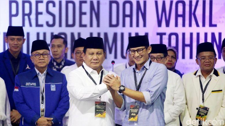 Sandiaga: Prabowo yang Diminati dan Diinginkan Masyarakat