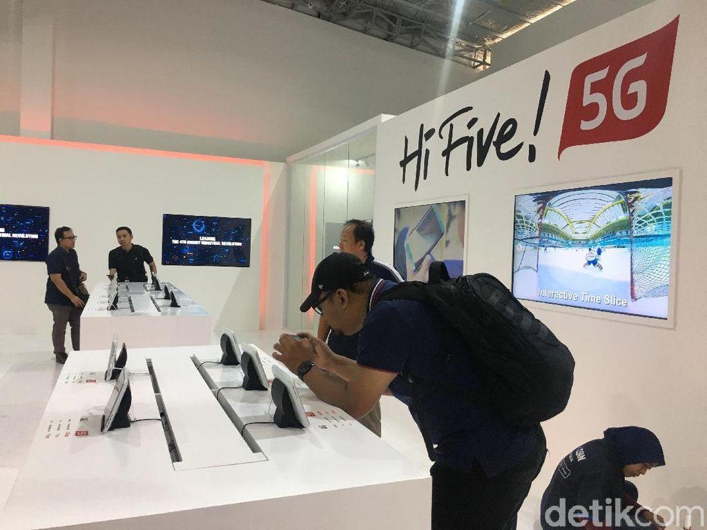 Menkominfo Sebut Telkomsel Mulai Uji Operasional 5G