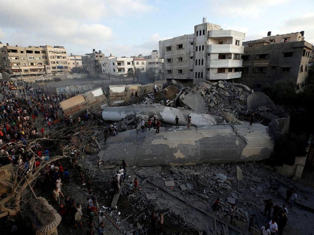 Gaza Memanas, Israel dan Hamas Sepakati Gencatan Senjata