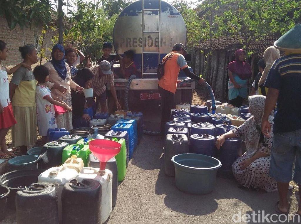 Kekeringan di Lamongan Melanda 19 Desa