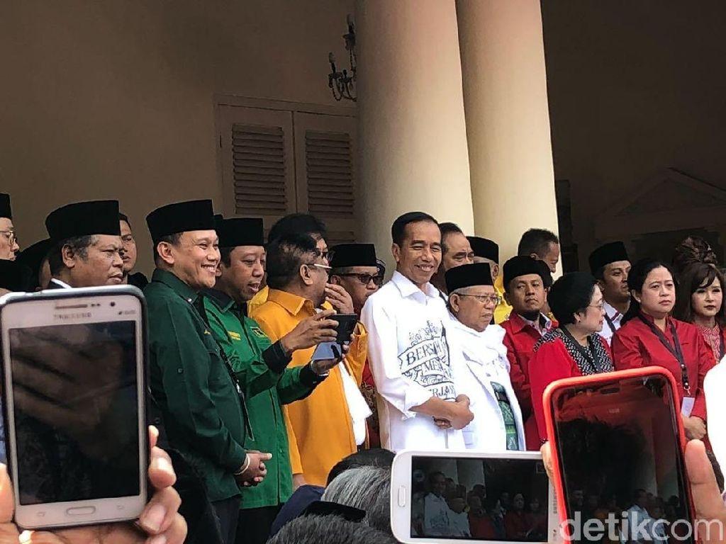 Ini Pidato Lengkap Jokowi di Gedung Joang 45 Sebelum Daftar Capres