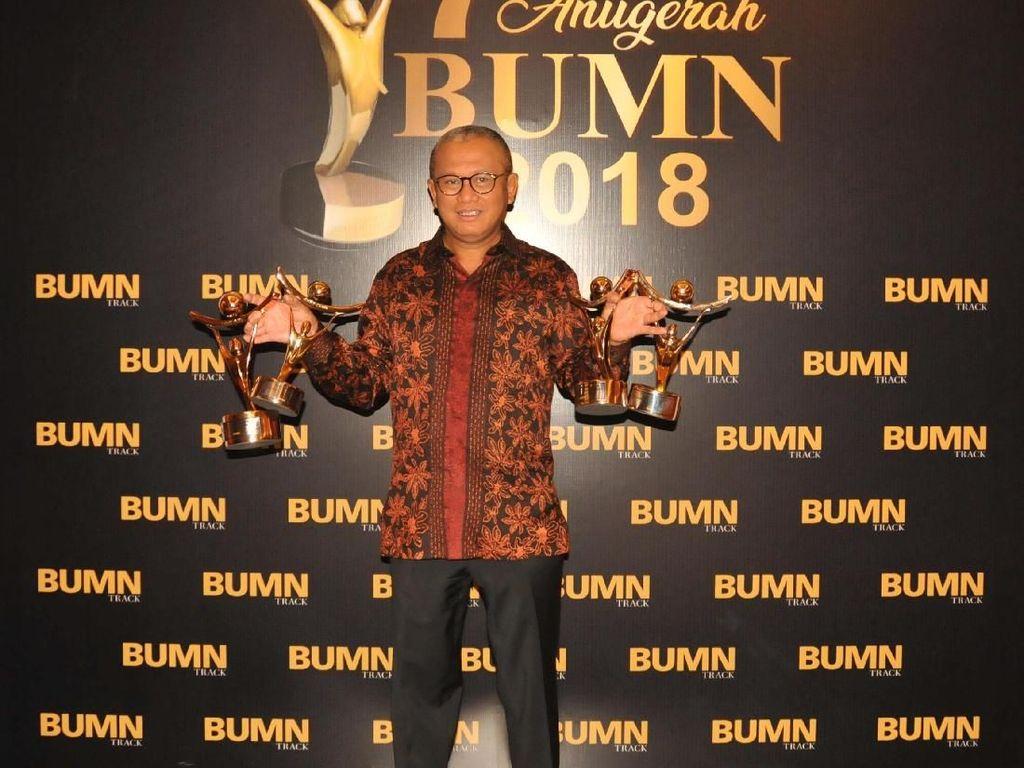 Di Anugerah BUMN Award, Bukit Asam Raih Penghargaan BUMN Terbaik