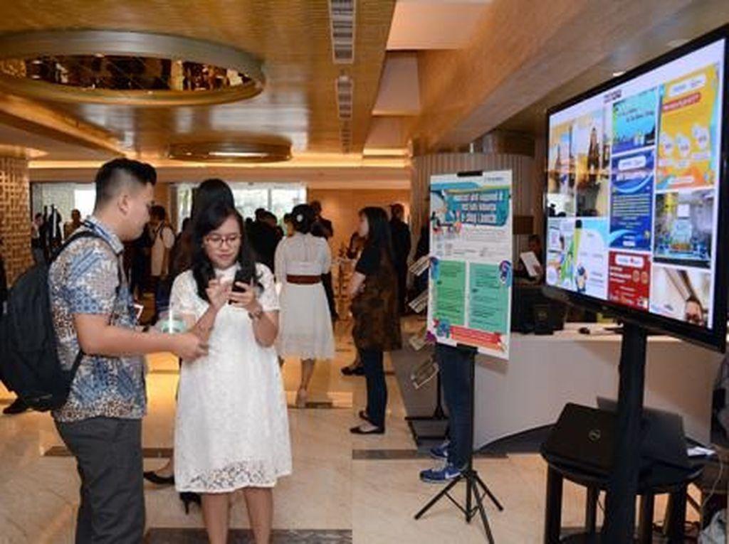 Peluncuran e-Commerce Tech Data Indonesia