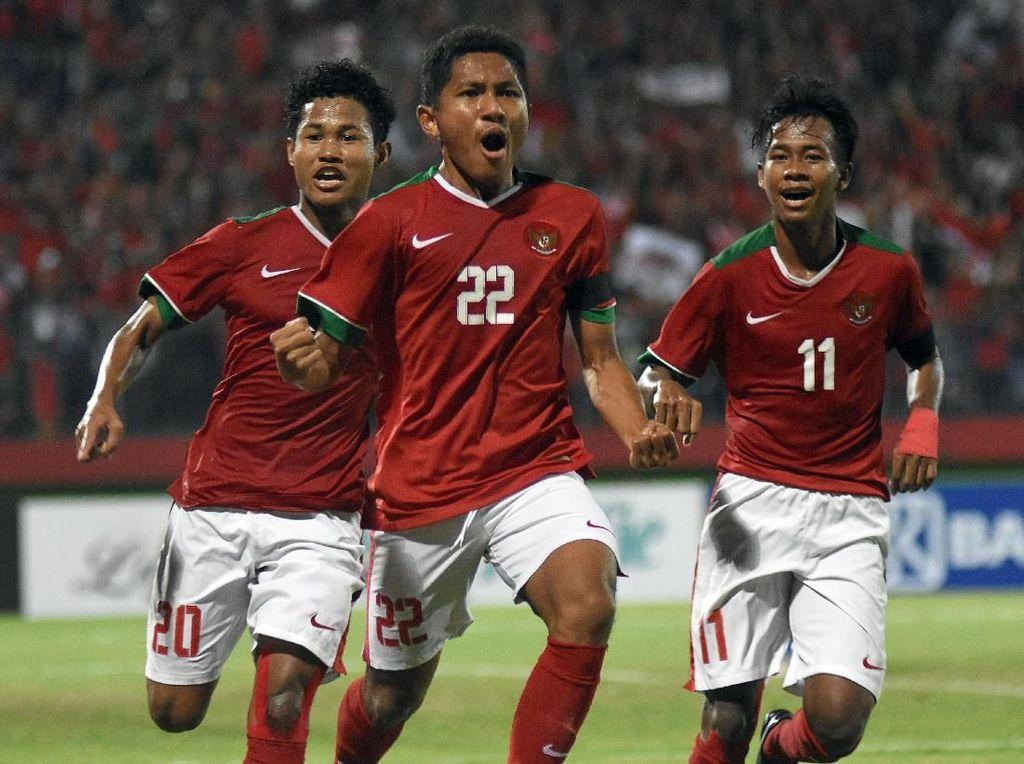 Kemenpora Bakal Beri Bonus Sama Rata ke Pemain Timnas U-16