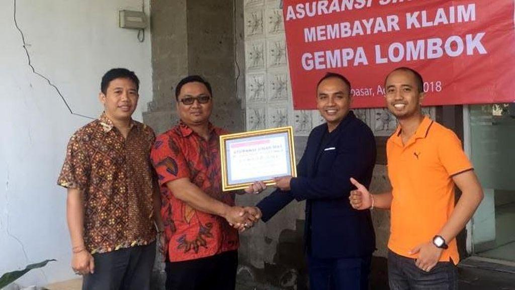 Pencairan Klaim Korban Gempa di Bali