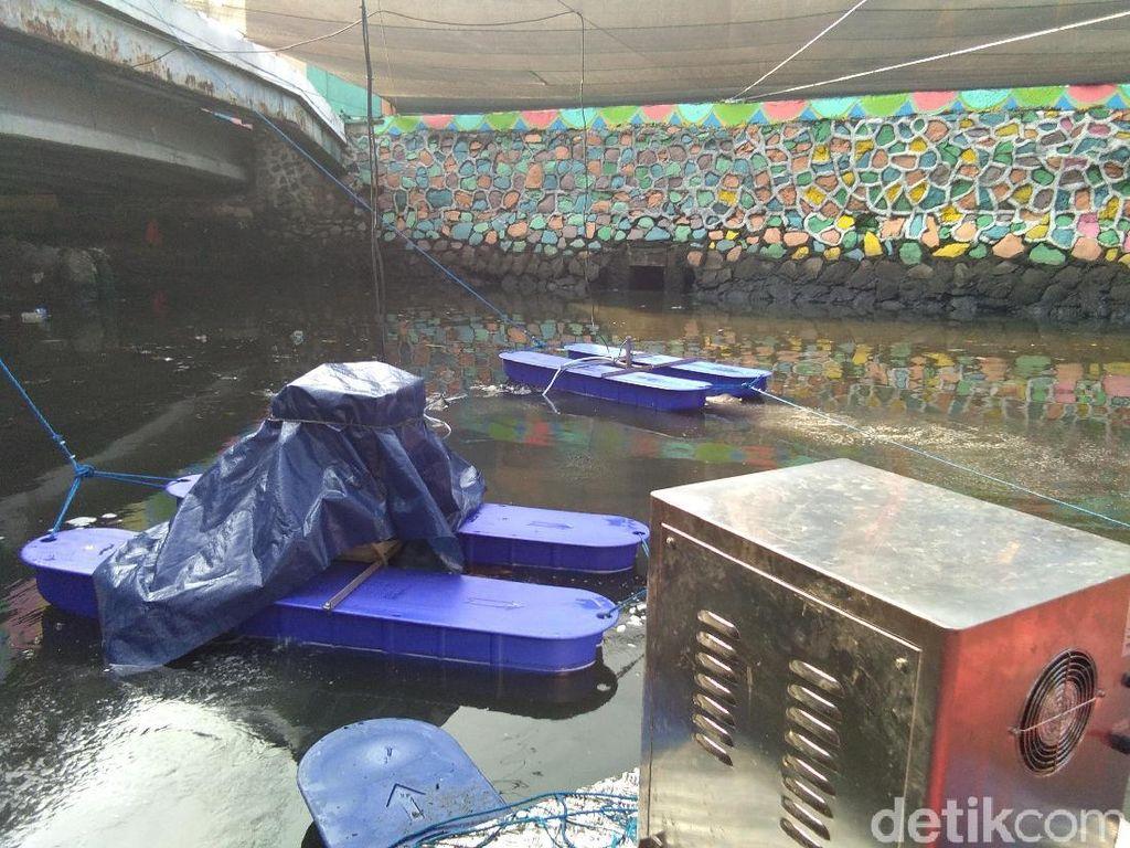 Alat Penghilang Bau Kali Item Tak Hanya Dipakai Saat Asian Games