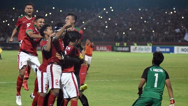 Stadion Gelora Delta Dua Kali Jadi Saksi Indonesia Juara
