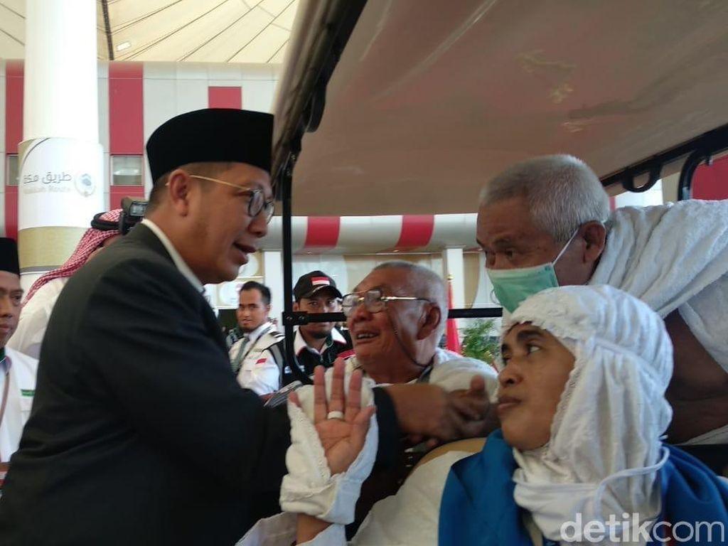Tiba di Jeddah, Menteri Agama  Tinjau Jemaah Jalur Fast Track