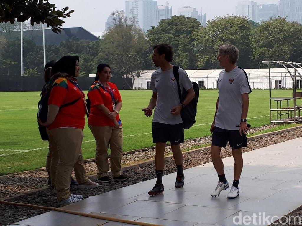 Latihan Perdana Timnas U-23 Digelar Tertutup