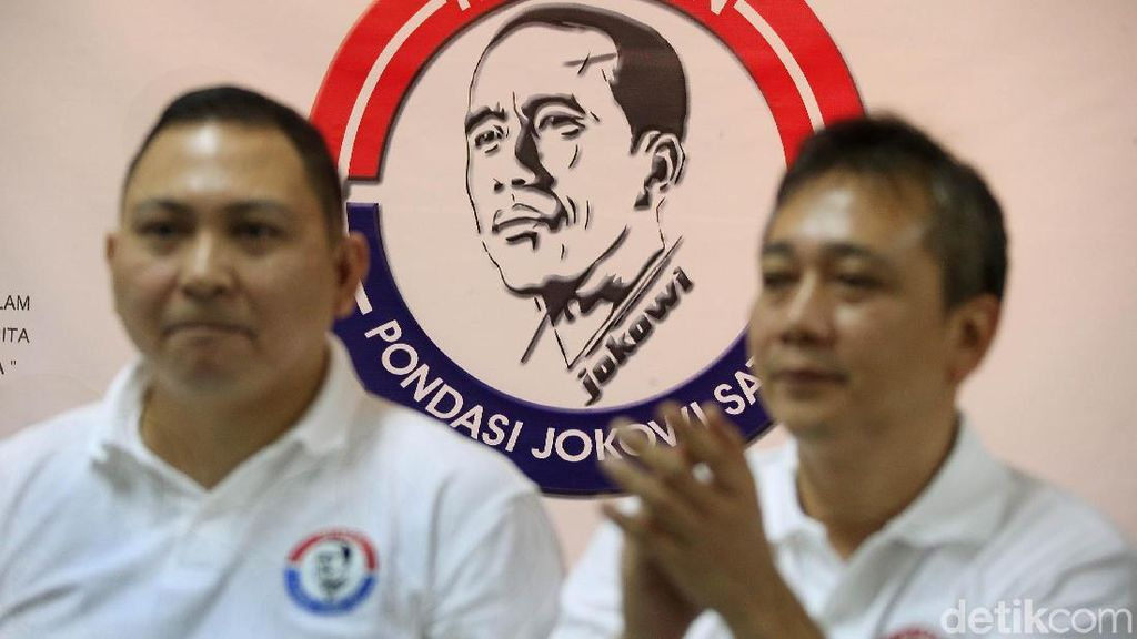 Deklarasi Relawan Pondasi Jokowi Satu