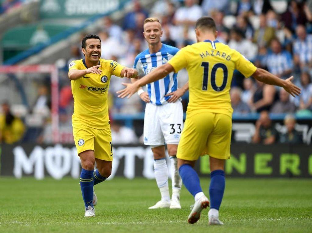 Hasil Liga Inggris: Chelsea Hantam Huddersfield 3-0