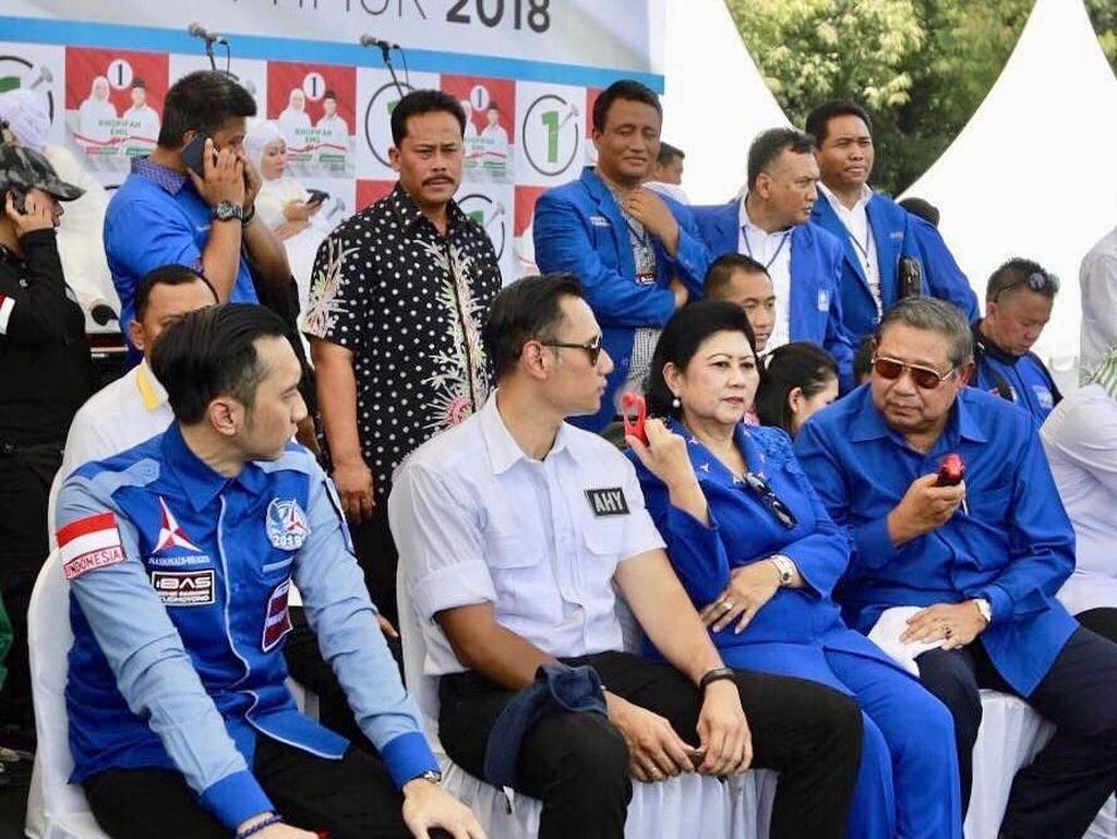 Ani Yudhoyono Jawab Netizen Kenapa AHY Tak Jadi Cawapres Prabowo