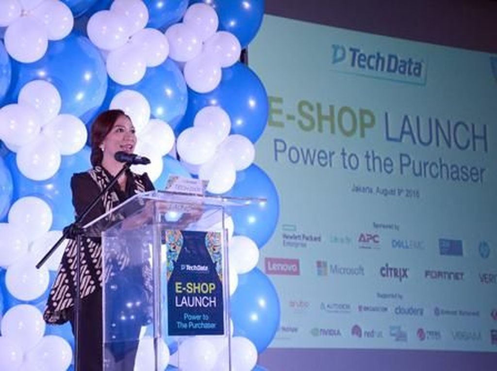 Peluncuran e-Commerce Tech Data Indonesia