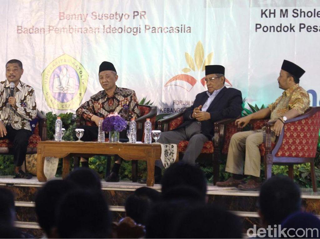 Ketum PBNU: Kami Hanya Mengantar Maruf Amin ke Jokowi