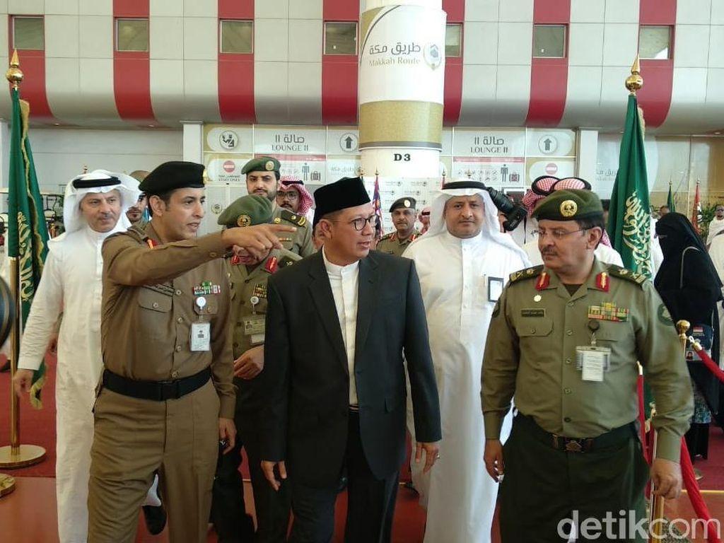 Amirul Hajj Indonesia, Lukman Hakim Saifuddin Tiba di Jeddah
